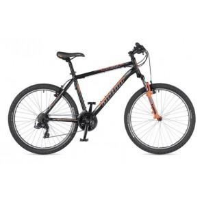 "OUTSET 26 15"" czarno(mat)/pomarańczowy(fluo), rower AUTHOR'19"