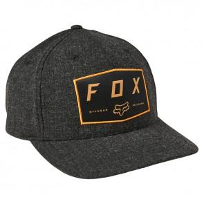 Czapka z daszkiem FOX Badge Flexfit czarny