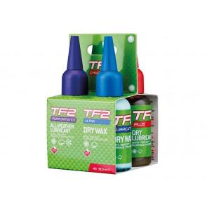 Olej do łańcucha zestaw WELDTITE TF2 CHAIN LUBES 4-PACK 4x 50ml