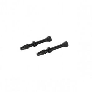 Wentyle AC-UST aluminiowe do systemów bezdętkowych (UST) czarne (2szt.)