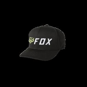 Czapka z daszkiem FOX Apex Flexfit czarny/żólty