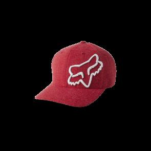 Czapka z daszkiem FOX Clouded Flexfit 2.0 L/XL czerwony