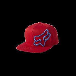 Czapka z daszkiem FOX Headers Snapback czerwony
