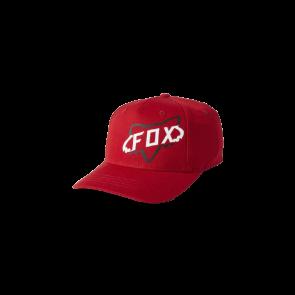 Czapka z daszkiem FOX Junior Cyclops Flexfire czerwony