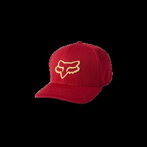 Czapka z daszkiem FOX Lithotype Flexfit 2.0 czerwony