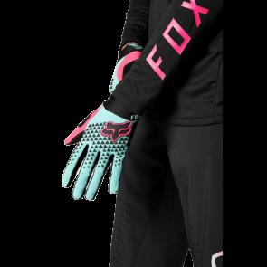 Rękawiczki FOX Defend L teal