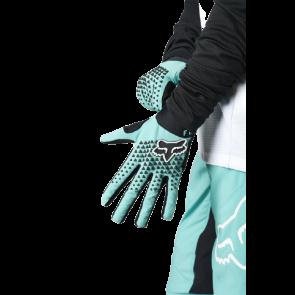 Rękawiczki FOX Lady Defend teal