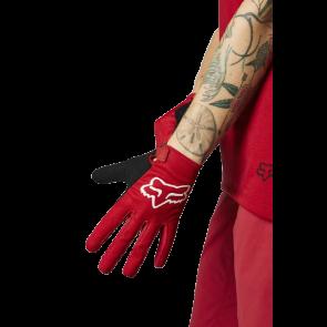 Rękawiczki FOX Lady Ranger czerwony