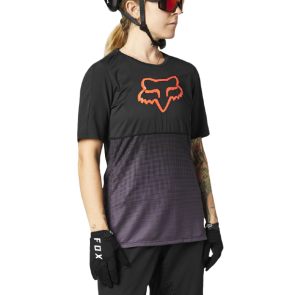 Koszulka Jersey FOX Lady Flexair black/purple