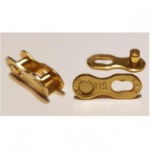 KMC Złączka CL-555R 2 sztuki złota