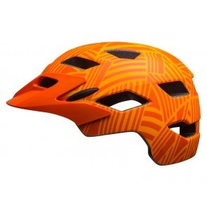 Kask juniorski BELL SIDETRACK matte tang orange seeker roz. Uniwersalny (50–57 cm)