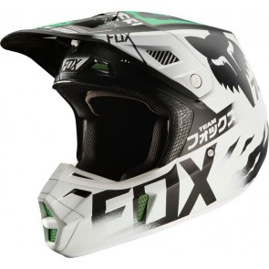 Kask Fox V-2 Union Pro Circuit Se White/black/green S
