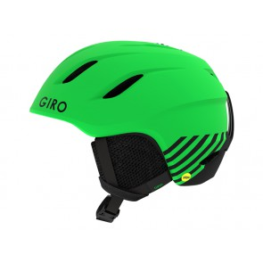 Kask zimowy GIRO NINE JR MIPS matte bright green zoom roz. S (52-55.5 cm)