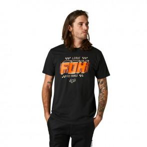 T-shirt FOX Overlay Premium czarny