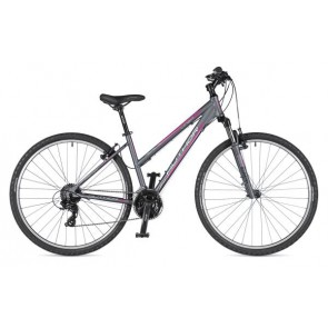"LINEA 29 17"" grafitowo(mat)/grafitowy(mat), rower AUTHOR'19"