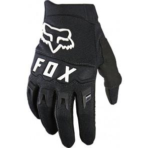 Fox Rękawiczki Junior Dirtpaw Black/White