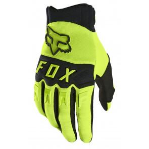 Rękawiczki FOX Dirtpaw S żólte