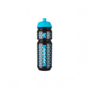 Accent Bidon Dots czarno-niebiesko-biały 750 ml