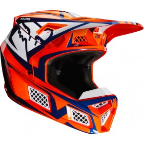 Kask Fox V-3 Idol Orange/blue