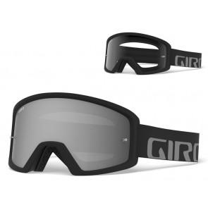 Gogle GIRO TAZZ black grey (Szyba kolorowa GREY COBALT 10% S3 + Szyba Przeźroczysta 99% S0) mocowanie pod zrywki +10 zrywek (NEW)