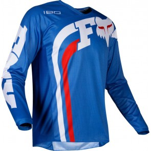 FOX 180 COTA JUNIOR jersey-niebieski-M