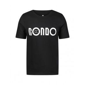 Rondo T-shirt Rondo Basicc (z krótkim rękawem) Czarny M