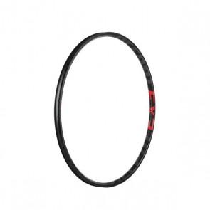 """Accent Obręcz EXE 29"""" 32 otwory, czarno-grafitowo-czerwona, szerokość 28,5mm, tubeless ready"""