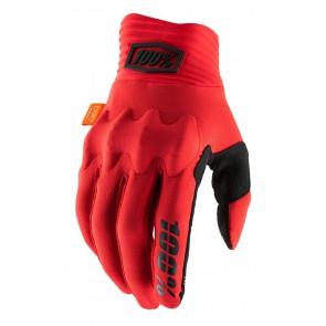 Rękawiczki 100% COGNITO Glove red black roz. L (długość dłoni 193-200 mm) (NEW)