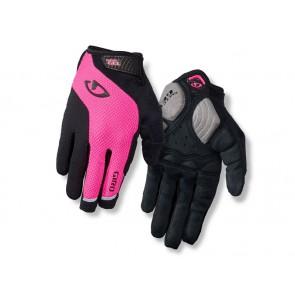 Rękawiczki damskie GIRO STRADA MASSA SG LF długi palec bright pink roz. L (obwód dłoni 190-210 mm / dł. dłoni 170-177 mm) (NEW)