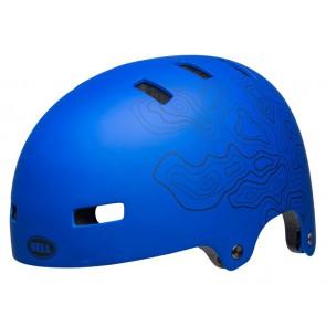 BELL LOCAL kask bmx niebieski