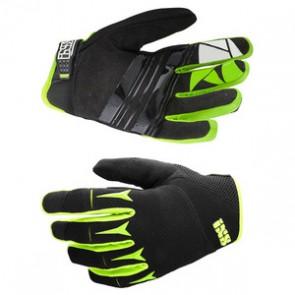 IXS BC-X.2.2 rękawiczki czarno-zielone
