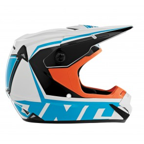 ATOM ARRAY HELMET ORANGE/CYAN M