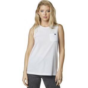 Koszulka Fox Lady Bez Rękawów Flutter White