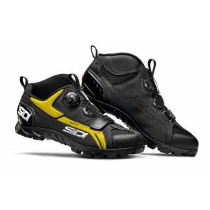 Buty MTB DEFENDER czarno-żółte 47