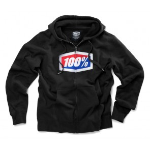 Bluza męska 100% OFFICIAL Hooded Zip Sweatshirt Black roz. L (NEW)