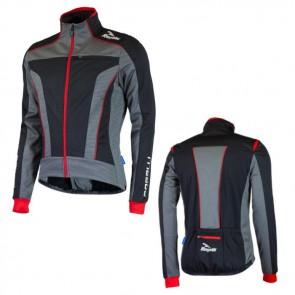 Rogelli bluza TRANI 3.0 czarno czerwona S