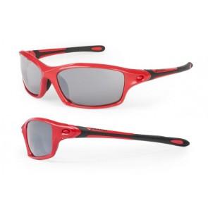 Accent Okulary Sidewind czerwone soczewki PC: szare lustrzane