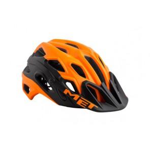 Kask LUPO M pomarańczowo-czarny