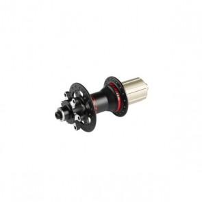 Piasta WIN MTB, tył, 32 otw., czarno-czerwona, oś 12x135mm