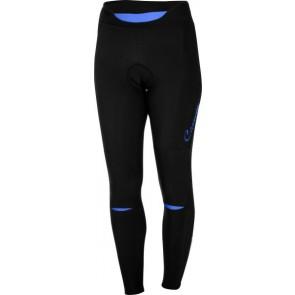 Damskie spodnie kolarskie bez szelek Chic, czarno-fioletowe, rozmiar S OUTLET