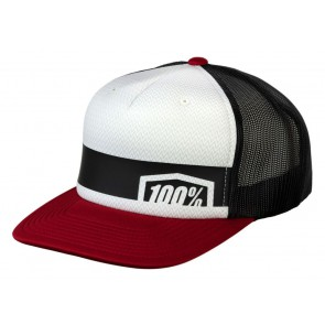 Czapka z daszkiem 100% QUEST Trucker Hat Brick (NEW)