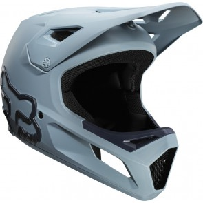 FOX Kask Rowerowy  Rampage Light Blue/Navy