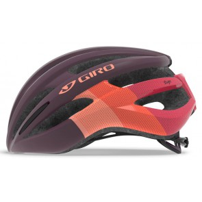 Kask szosowy GIRO SAGA matte dusty purple bars roz. M (55-59 cm) (NEW)