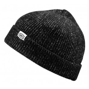 Czapka 100% MUTINY Cuff Beanie black grey (NEW)
