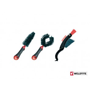 WELDTITE DIRTWASH bike cleaning brush 3szt