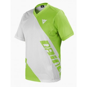 DAINESE BASANITE S/S JERSEY - WHITE/GREEN
