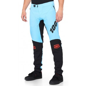 Spodnie męskie 100% R-CORE X Pants light blue black