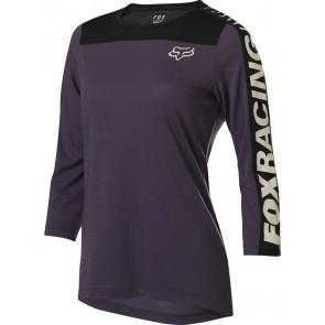 FOX Koszulka Rowerowa  Lady Ranger Dr 3/4 Dark Purple