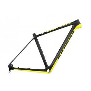 Rama MTB Peak Carbon 29 XS czarno-żółta fluo