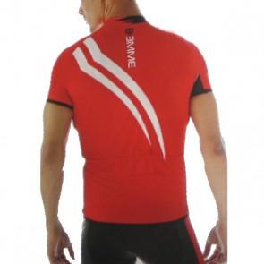 Biemme koszulka STRIPS czerwona XXL